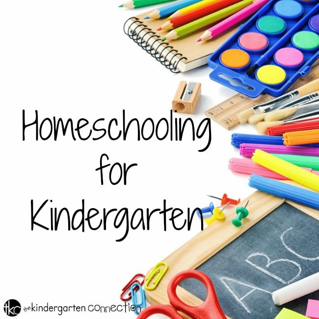 Are you thinking about homeschooling for kindergarten? Learn if homeschooling for kindergarten is a good fit for your family.