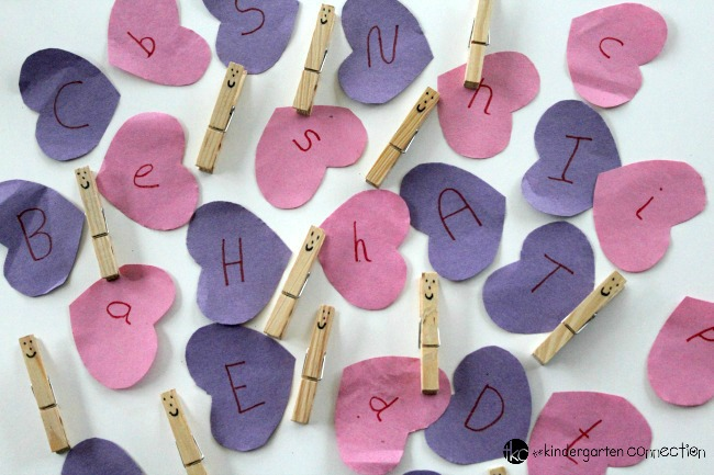 Add some love to your learning! Practice matching uppercase and lowercase letters with this Valentine's Day Love Heart Letter Match Game.