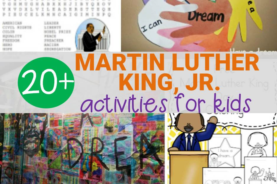 Martin Luther King, Jr. Activities for Kids