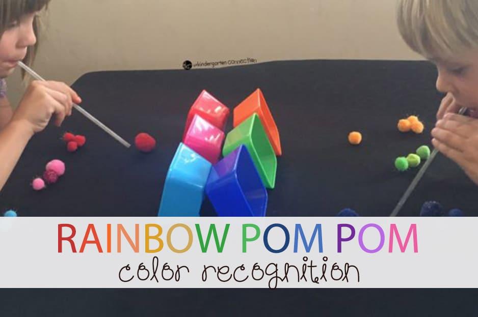 Rainbow Pompom Race