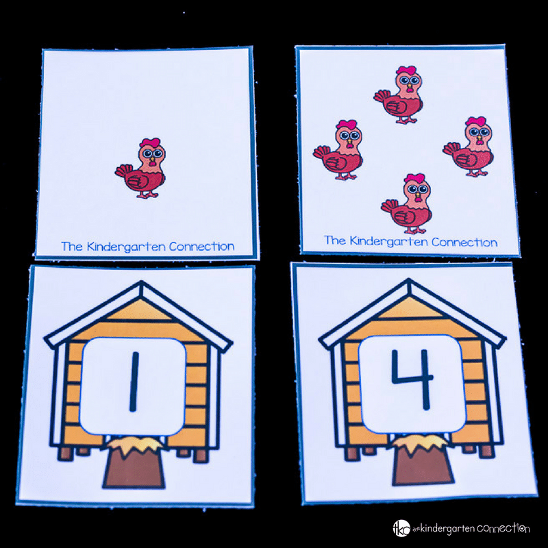 Practice counting with these free farm counting puzzles! They're perfect to help your Pre-K and Kindergarten students with their counting.