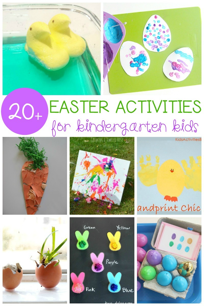 These creative Easter activities for Kindergarten are perfect for the classroom. Tons of Easter fun for math, reading, science, fine motor, and more!