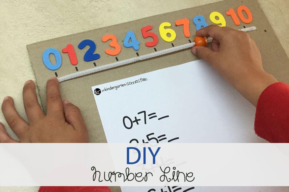 DIY Number Line Tool