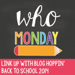 Blog Hoppin' Teacher Week: Who