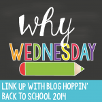 Blog Hoppin' Teacher Week: Why