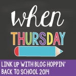 Blog Hoppin Teacher Week: When