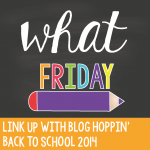Blog Hoppin' Teacher Week: What Friday, and freebies!