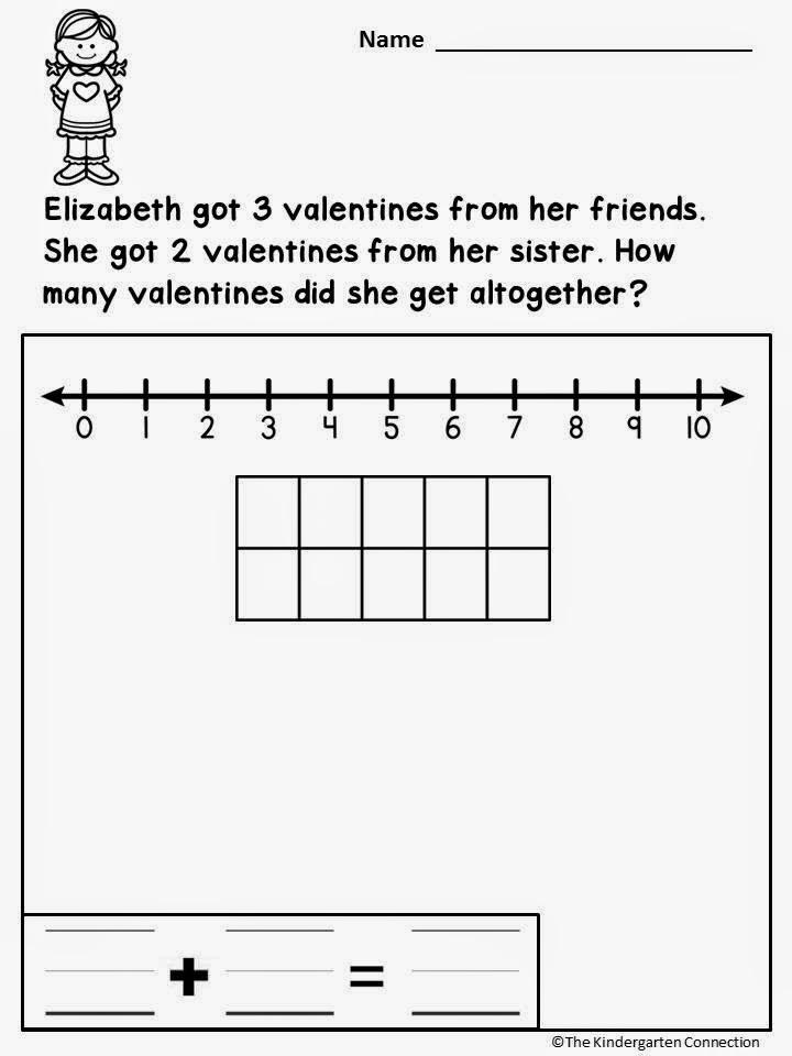 Kindergarten Word Problems Worksheets Free Worksheets Library ...