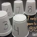 7 Early Learning Games to Play with CUPS