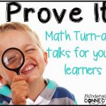 Prove It! Math Turn-and-Talks for young learners