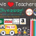 We Love Teachers Giveaway!