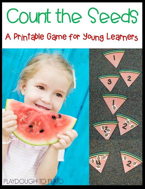 Free counting cards! (Playdough to Plato)