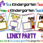 Tips to a Kindergarten Teacher, From a Kindergarten Teacher