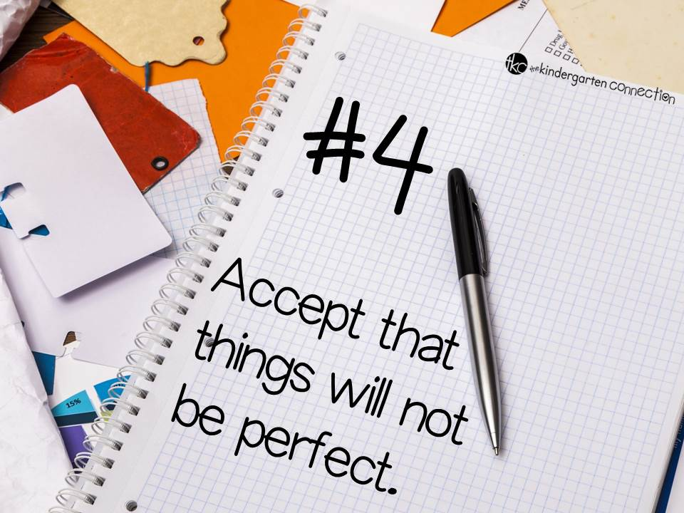 When you accept that things will not be perfect you can enjoy yourself and your students so much more!