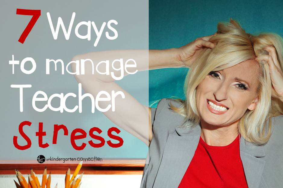 Ways to manage teacher stress