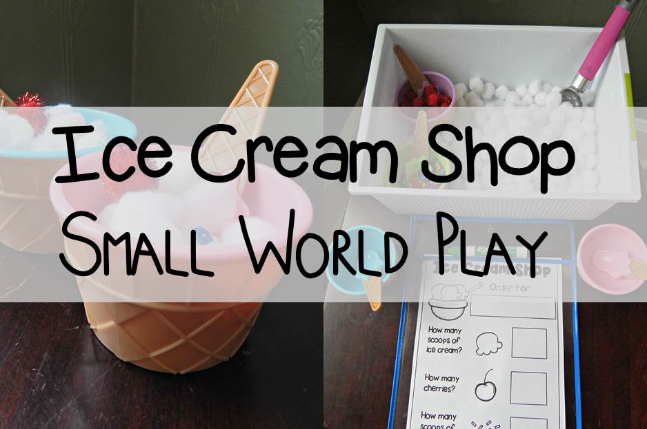 Ice Cream Shop Small World Play Main Image