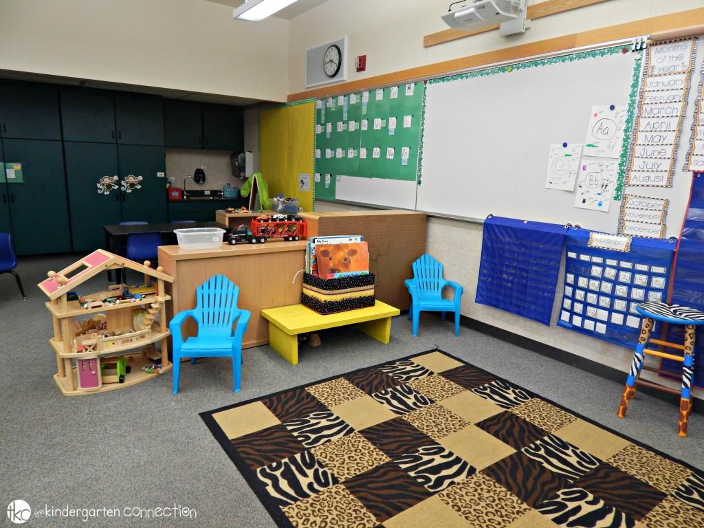Classroom Rug area