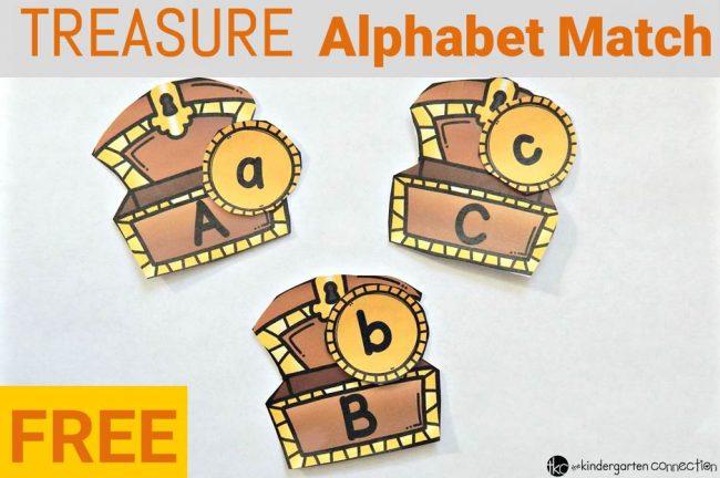 Treasure Alphabet Match