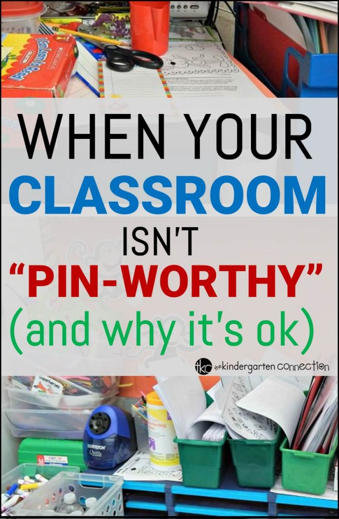 When your classroom isn't Pin Worthy