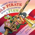 """There was an Old Pirate Who Swallowed a Fish is a fun twist on the """"There Was an Old Lady"""" series!"""