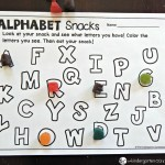 alphabet snack printables