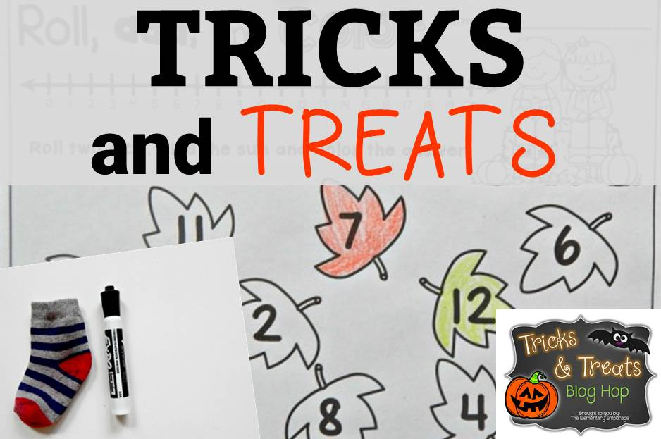 Tricks and Treats Blog Hop (Free Fall Roll and Color)