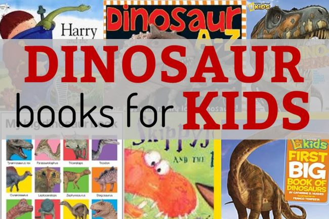 dinosaur books for kids