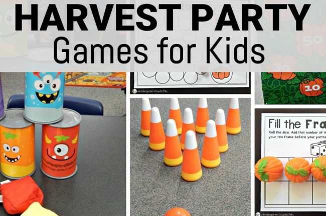 harvest games for kids