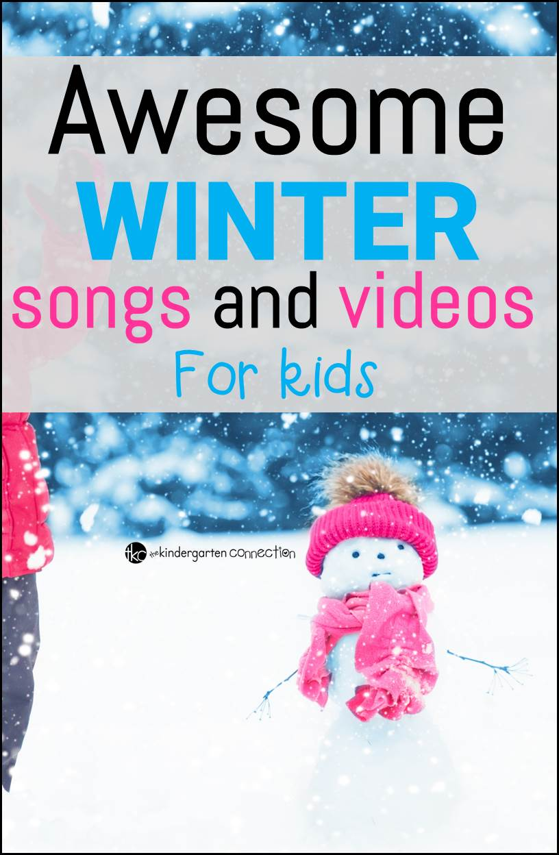 Winter Songs and Videos for Kids - The Kindergarten Connection