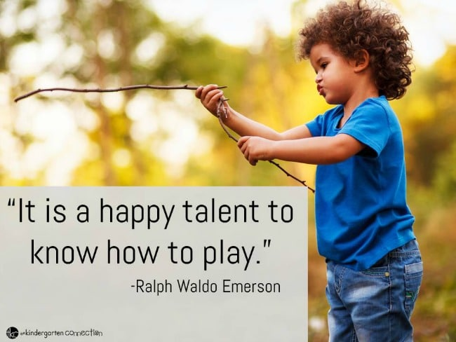 Quotes About Play Beauteous Inspiring Quotes About Play  The Kindergarten Connection