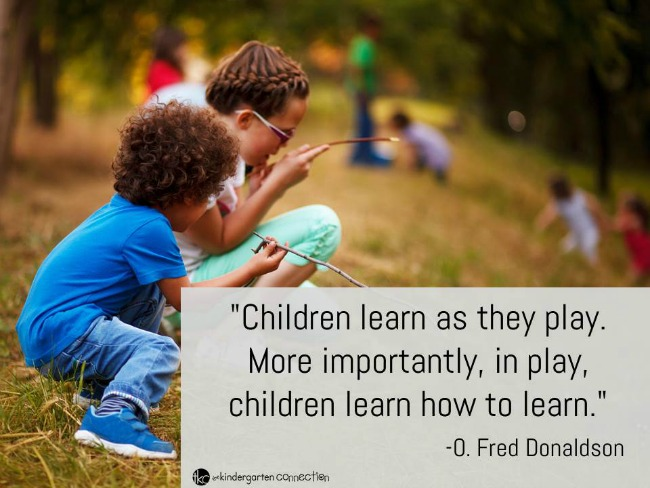 Quotes About Play New Inspiring Quotes About Play  The Kindergarten Connection