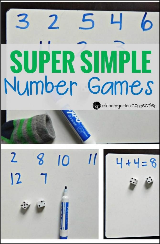 Super Simple Number Games pin