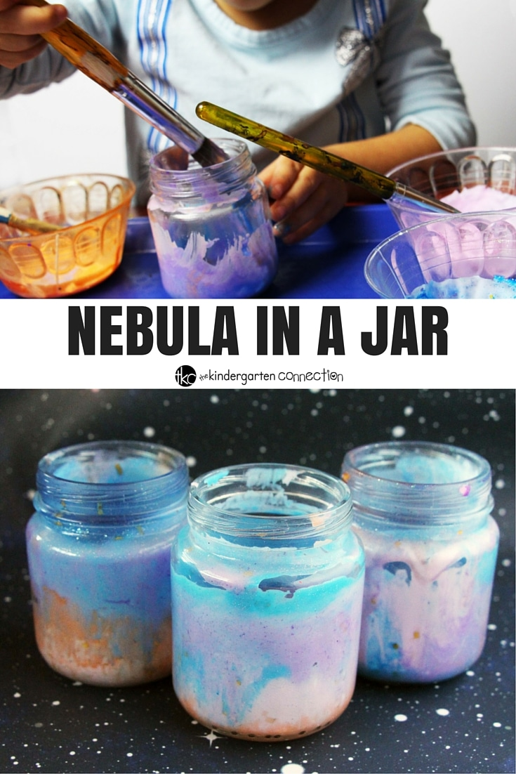 This awesome nebula in a jar craft for kids is so fun when learning about space!