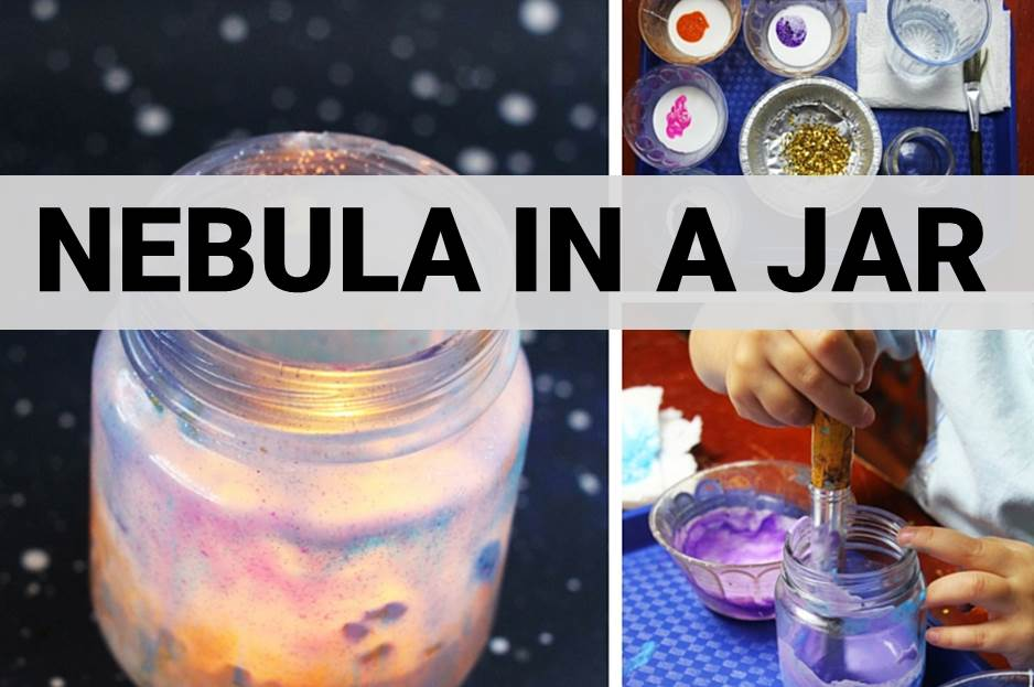 Nebula in a Jar Craft