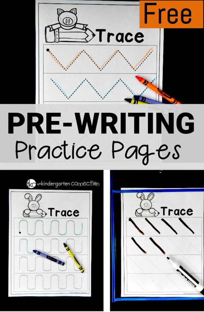Free Prewriting Worksheets The Kindergarten Connection. Prewriting Worksheets. Worksheet. Handwriting Practice Worksheets For Pre K At Mspartners.co