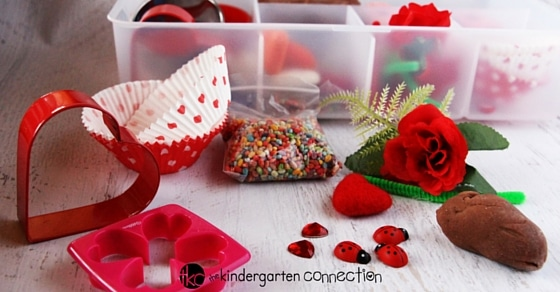 This Valentine's play dough kit is SO fun for the classroom or at home! So many possibilities and kids love it!