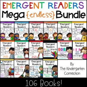 Emergent Readers Mega Endless Bundle