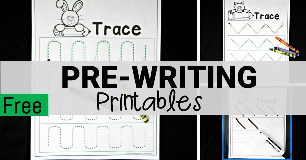 pre-writing worksheets FB