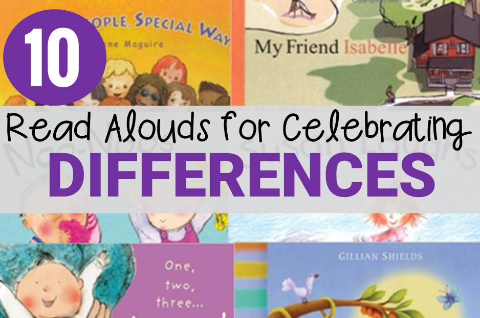 Help teach your students that it is our differences that make us special. These 10 read alouds for celebrating differences will do just that!