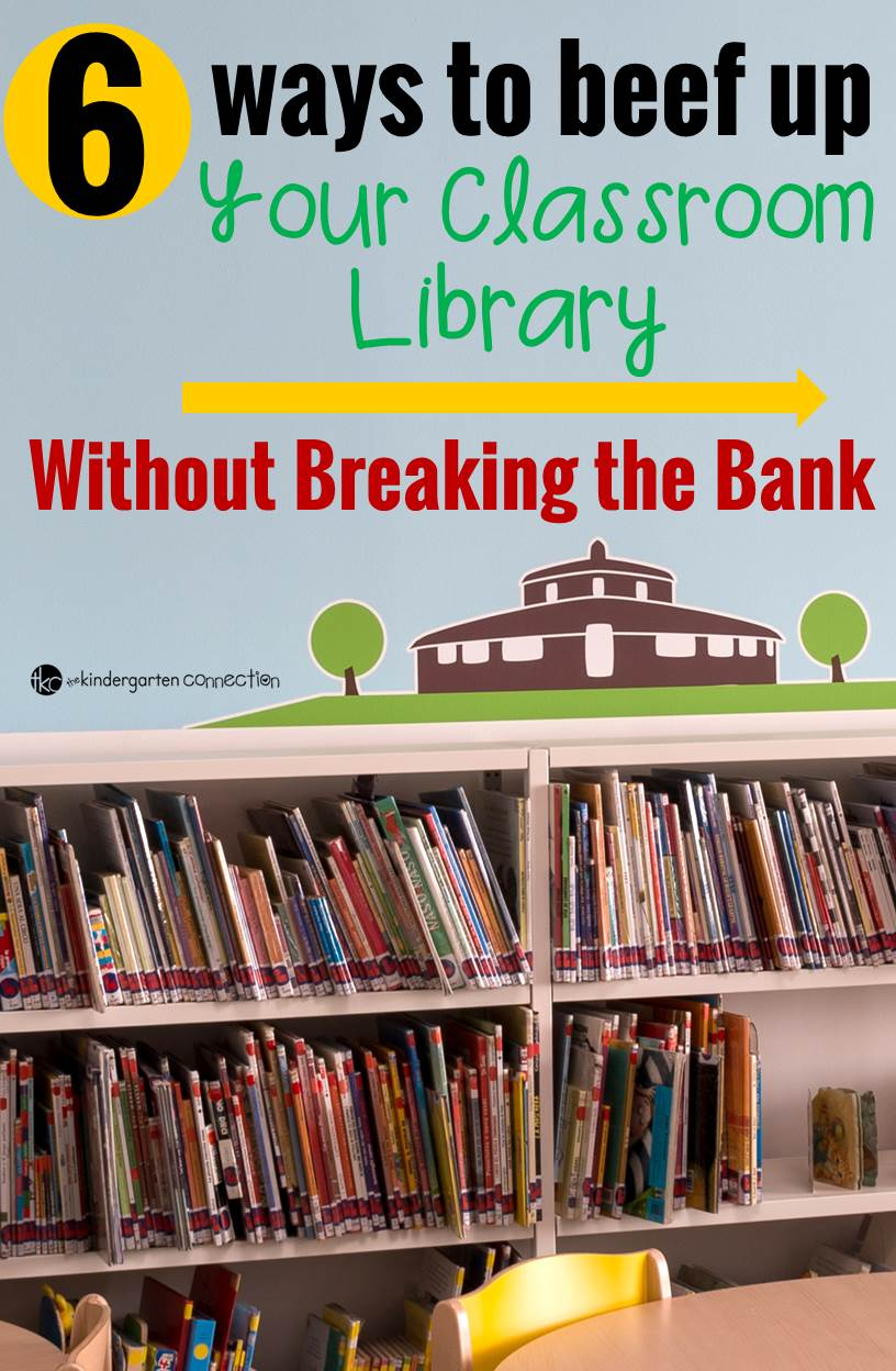 6 ways to beef up your classroom library pin