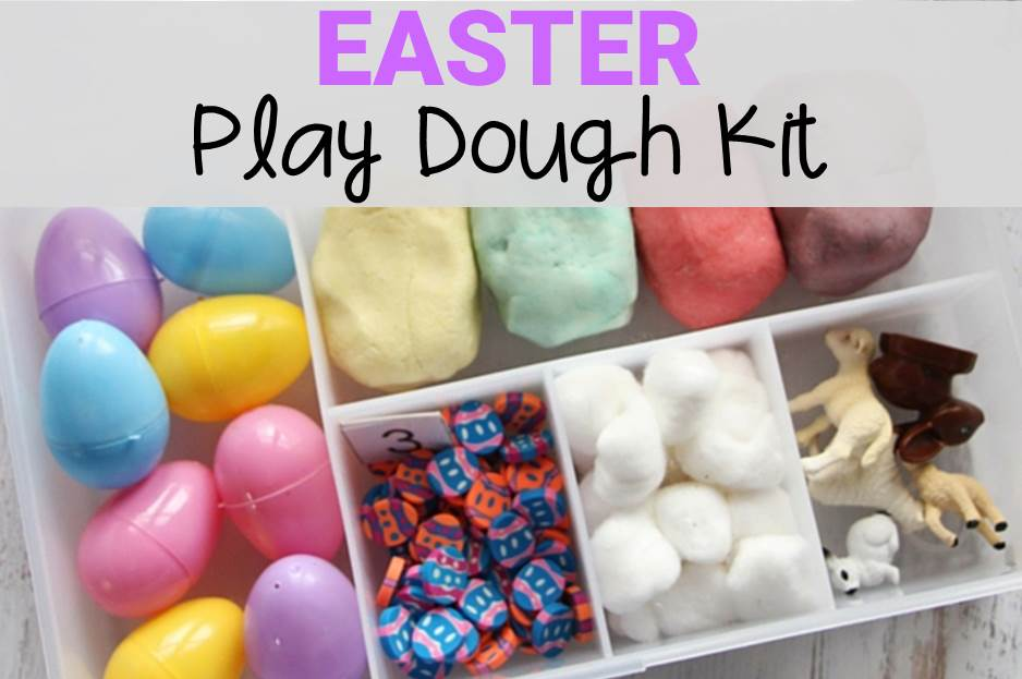 Easter Play Dough Kit