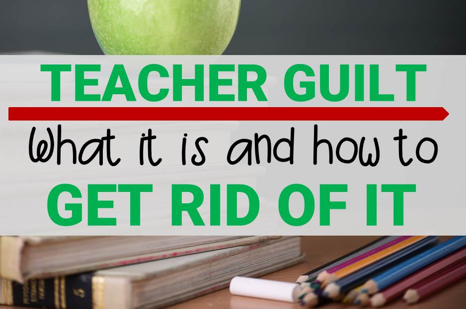 Teacher Guilt main image