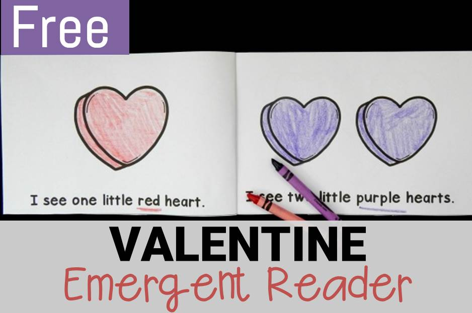 Valentine Emergent Reader