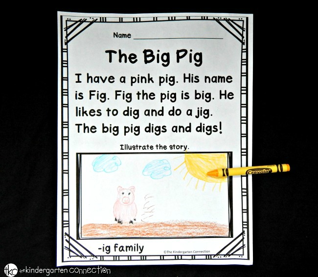 Fluency Passages for Early Readers - The Kindergarten ...