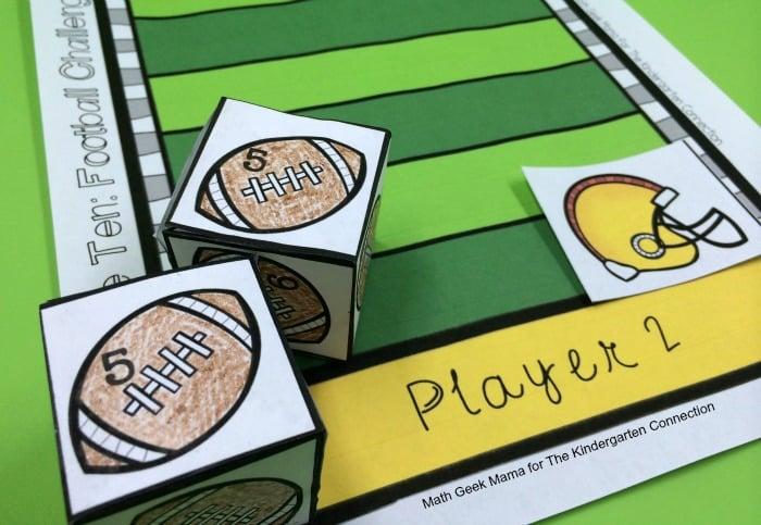 football make 10 board game