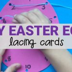 Easter Egg Lacing Cards