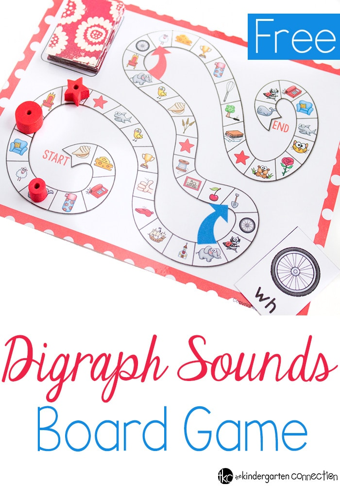 Printable Digraph Board Game