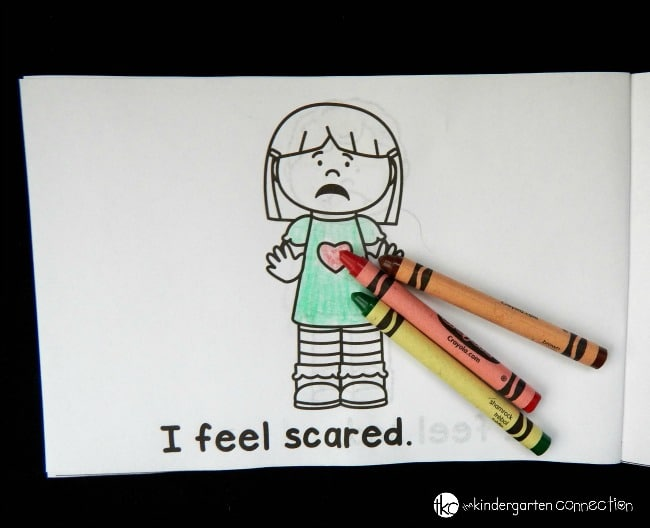 learn about different feelings and emotions with this free emotions emergent reader!