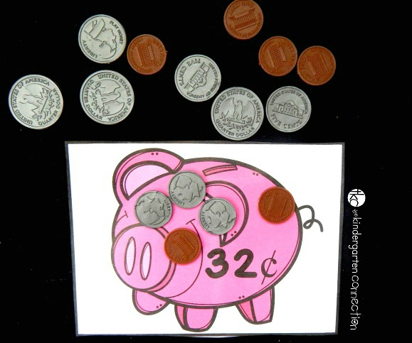 This free money game for kids is a fun way to work on identifying and counting change!