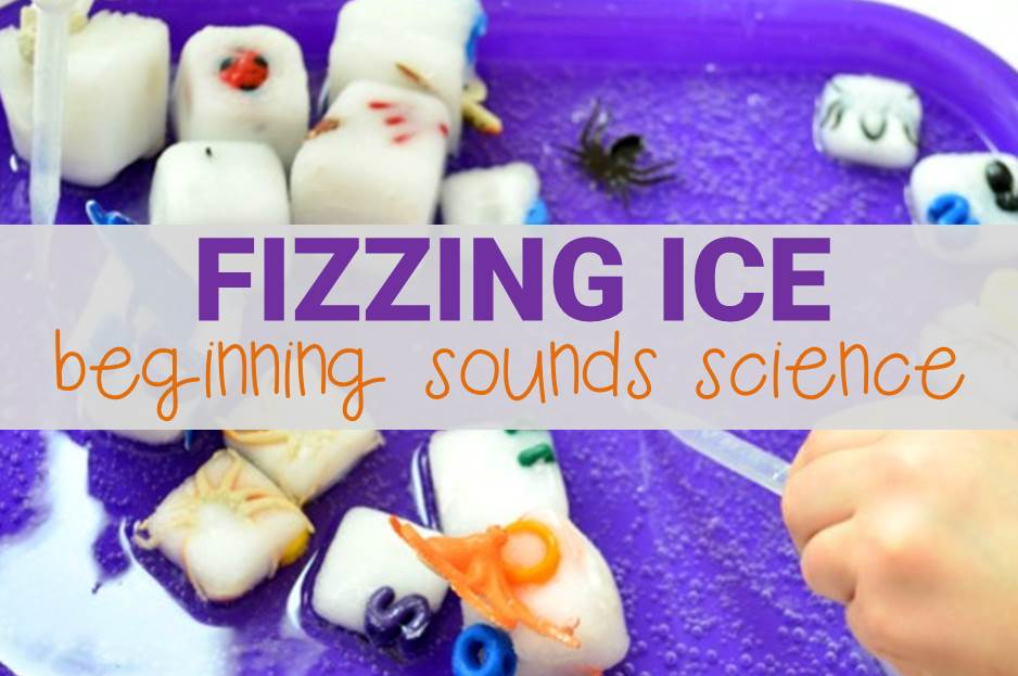 fizzing ice beginning sounds science